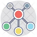 Network Web Matrix Icon