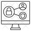 Network Lock Private Icon