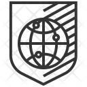 Network Security Shield Icon