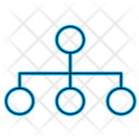 Business Network Organization Icon