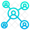 Connection Business Client Customer Icon