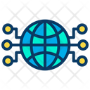 Global Network Global Artificial Network Icon