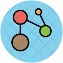 Network Node Topology Icon