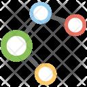 Network Bonding Structure Icon