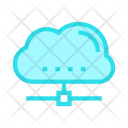 Cloud Computing Share Icon