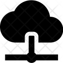Network Cloud Connected Icon