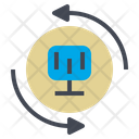 Network Connect System Icon