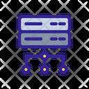 Network Structure Analytics Icon
