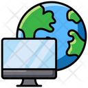 Global Network Internet Connection Network Connection Icon