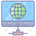 Network Connectivity Global Web Icon