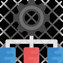 Network Development Icon