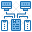 Network Document Email Icon