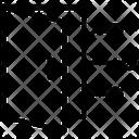 Network Door Artificial Intelligence Icon