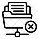Drive Error Network Drive Error Shared Folder Icon