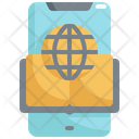 Network Mobile Online Icon
