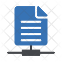 File Sharing Network Icon