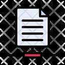 Network File Share File File Icon