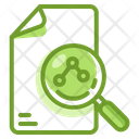 Analyst Data Search Icon