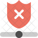 Network Firewall Off Network Firewell Icon