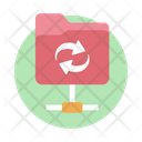 Backup Folder Sync Network Folder Shared Files Icon