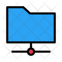 Folder Network Connection Icon