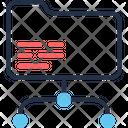 Network Folder Storage Folder Icon