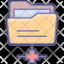 Network Folder Sftp Secure Icon