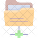 Network Folder Sftp Secure Icon