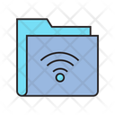 Wifi Sharing File Icon