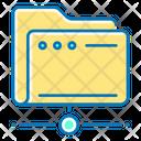 Network Folder Folder File Icon