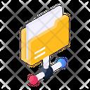 Network Folder Shared Folder Share Document Icon