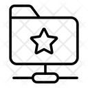 Network Folder Document Portfolio Icon