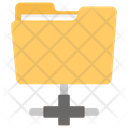 Network Folder Shared Folder Network Storage Icon