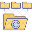 Database Network Folders Shared Directory Icon
