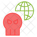 Network Hacking Icon