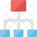 Network Hierarchy Icon