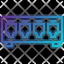 Network Hub Lan Port Ethernet Hub Icon