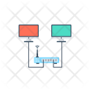 Network Hub Ethernet Icon