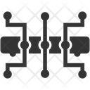 Hub Network Link Icon