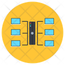 Dataserver Network Dataserver Rack Server Hosting Icon