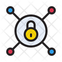 Lock Network Connection Icon