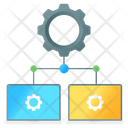 Network Configuration Network Management Network Setting Icon
