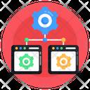 Connection Management Network Management Network Maintenance Icon