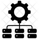 Network Management Concept Icon