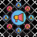 Network Marketing Marketing Network Icon