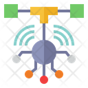 Network Node Connection Networking Icon