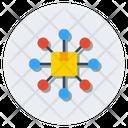 Network Nodes Icon