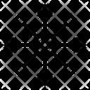 Network Connection Network Nodes Scientific Network Icon