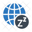 Sleep Earth World Icon