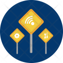 Network Setting Concept Icon